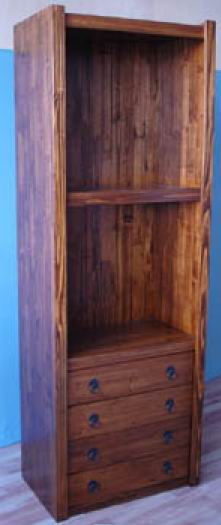 Solid Fir wood Stronger and Antique 3 Bookcases combinations