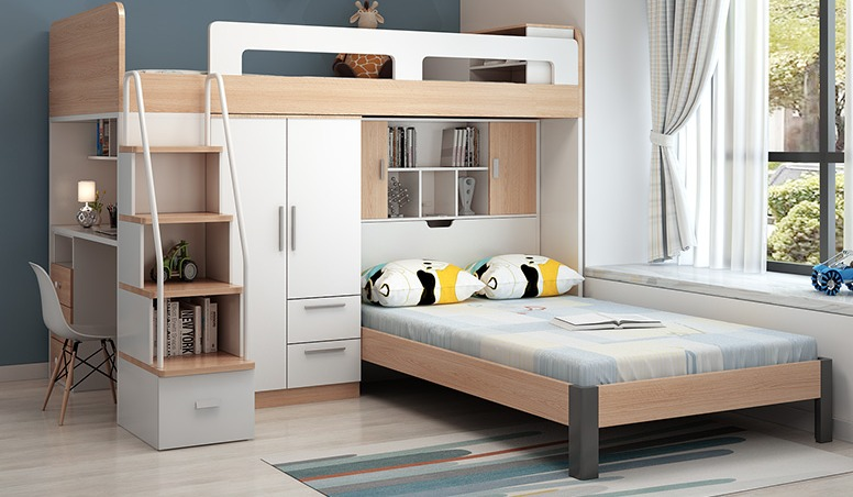 Multifunctional Bed In Melamine Particleboard Lusty Home Limited