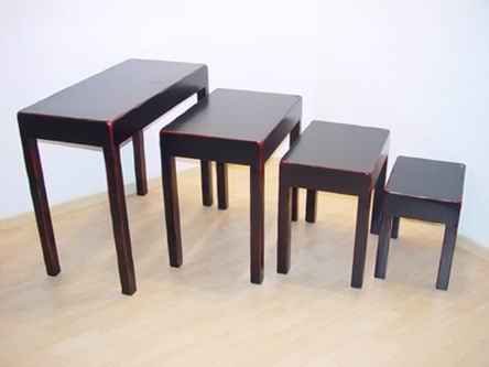 Desk 4/S ( Nest of desks)/Nest of 4 tables