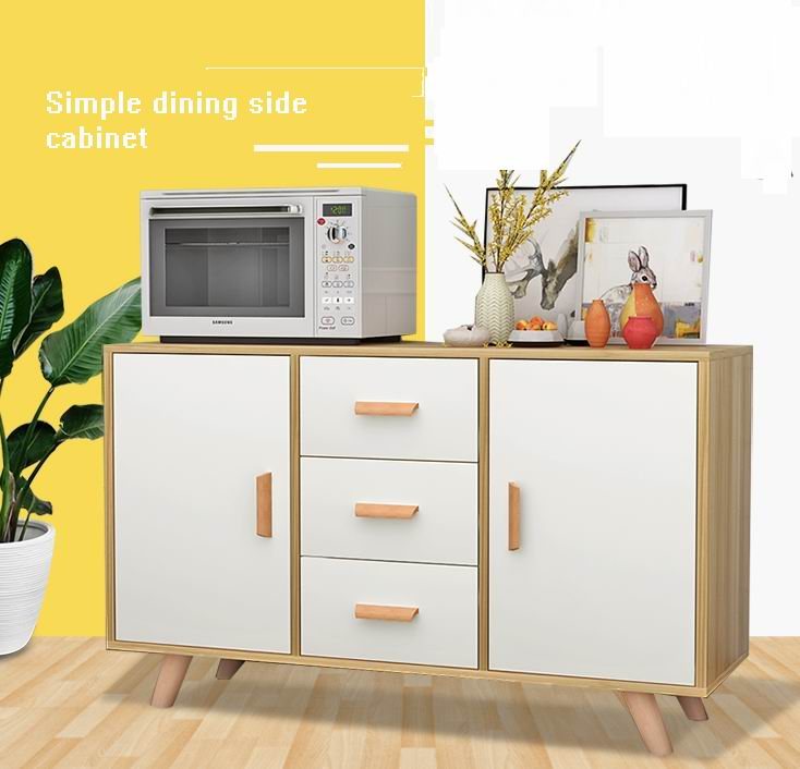 Nordic simple modern kitchen multi-functional dining side cabinet